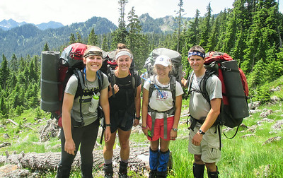 NOLS - 3rd Block - Pacific Northwest Backpacking