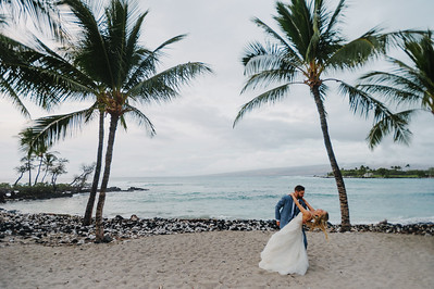 CAROLINE + MATT // FAIRMONT ORCHID WEDDING