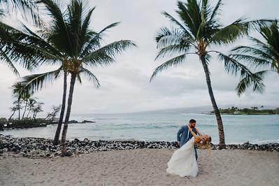 CAROLINE + MATT // FAIRMONT ORCHID WEDDING