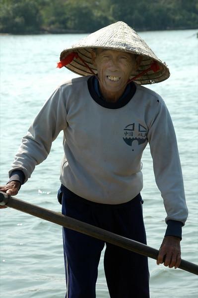 Old Man Fishing - Hoi An, Vietnam
