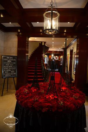 Paris Themed Engagement party