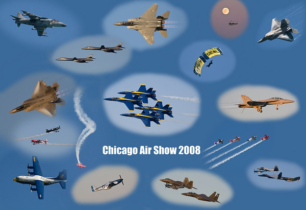 Chicago Air Show 2008 Blue Angels Now with video