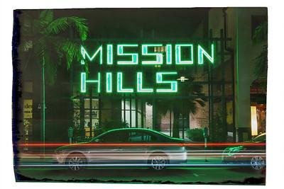 Neighborhood Signs - San Diego