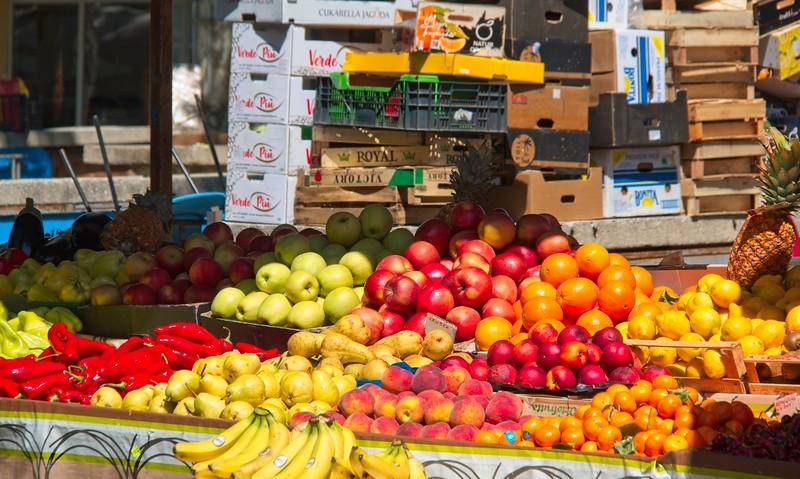 The Market, Split, Croatia