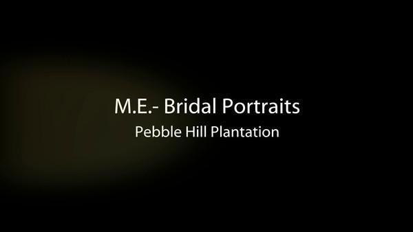 ME Bridal Portraits (VIDEO)