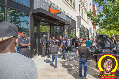 Nike Store Grand Opening Woodward Detroit 2016
