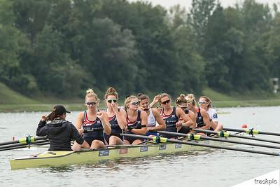 World Rowing Championships 2019, training days