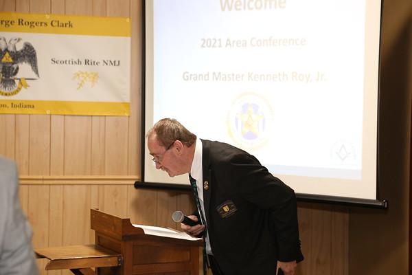 Area Conf at Pisgah Lodge No 32 03-17-2021
