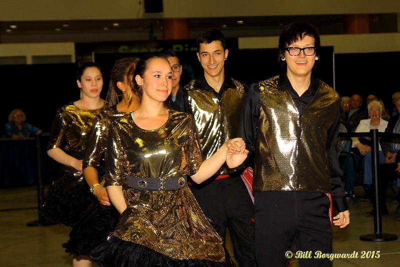 Metis Child Dancers - Alberta Legends at Servus Place 081