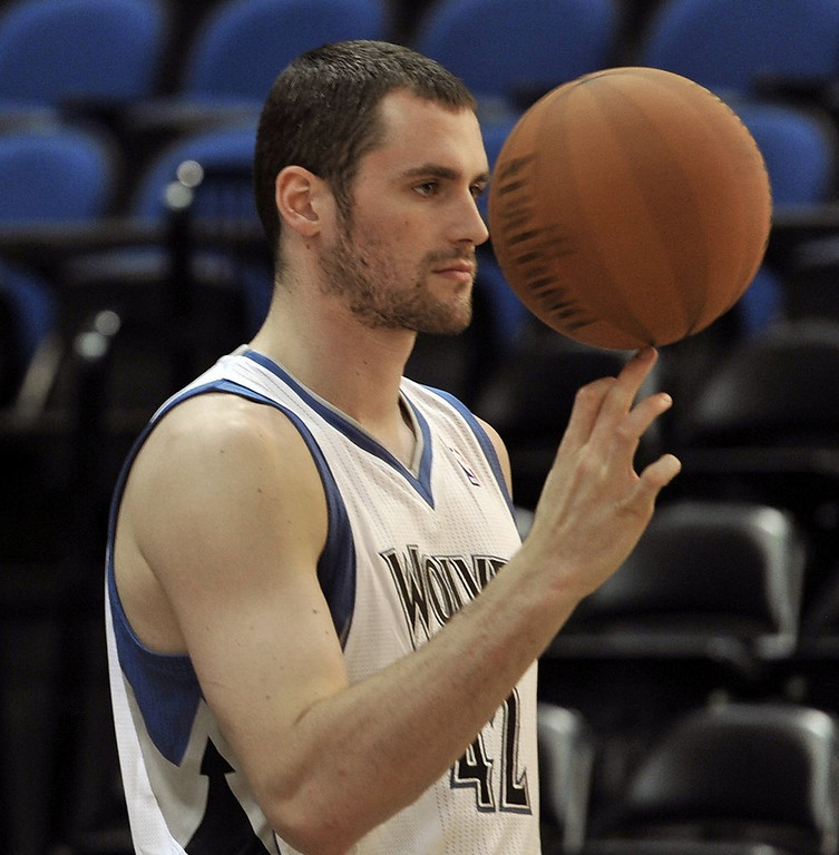 ". 5. KEVIN LOVE <p>Has narrowed down his search to � oh � every NBA team except Minnesota. (6) <p><b><a href=\'http://www.twincities.com/timberwolves/ci_25876771/timberwolves-plan-kevin-love-next-year-saunders-says\' target=""_blank\""> LINK </a></b> <p>    (AP Photo/Jim Mone)"