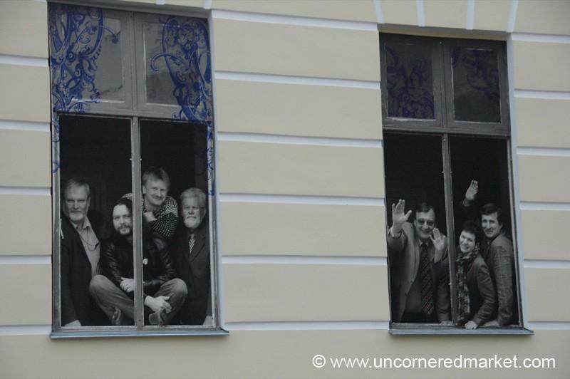 Tartu University, Windows - Estonia