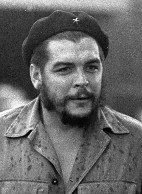 ". Ernesto ""Che\"" Guevara, a legendary guerrilla who fought with Fidel Castro in Cuba, is shown in a June 1962 file photo. Forensic specialists confirmed, Saturday, July 12, 1997, they had discovered the remains of Ernesto Che Guevara, more than 30 years after he was slain during a quixotic bid to spread revolution. (AP Photo)"