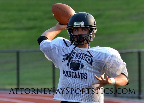 2013 08 22 West York vs South Western (scrimmage)