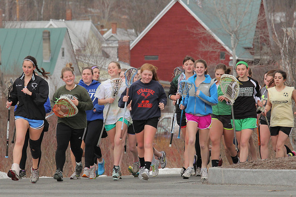 WUHS Girls Lacrosse Early Practice