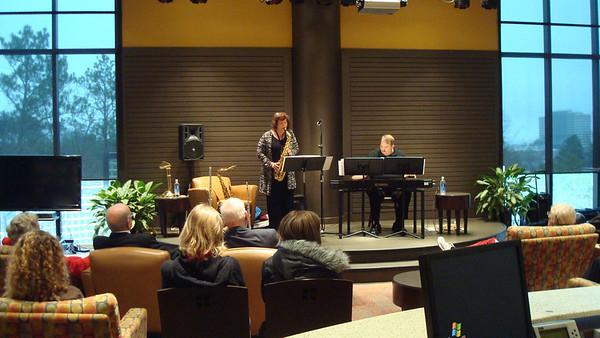 2012-01-22 Instrumentalists @ the Plaza-Sallie White