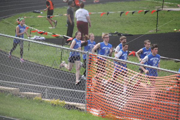 6-8th grade track at freeport . 5.7.14