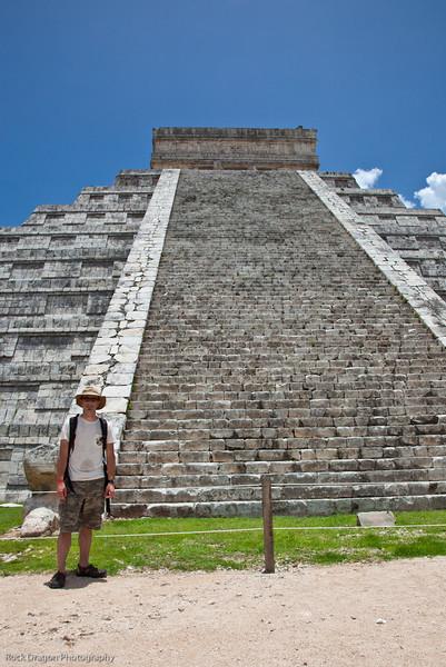 Me at Chichen Itza, Mexico.