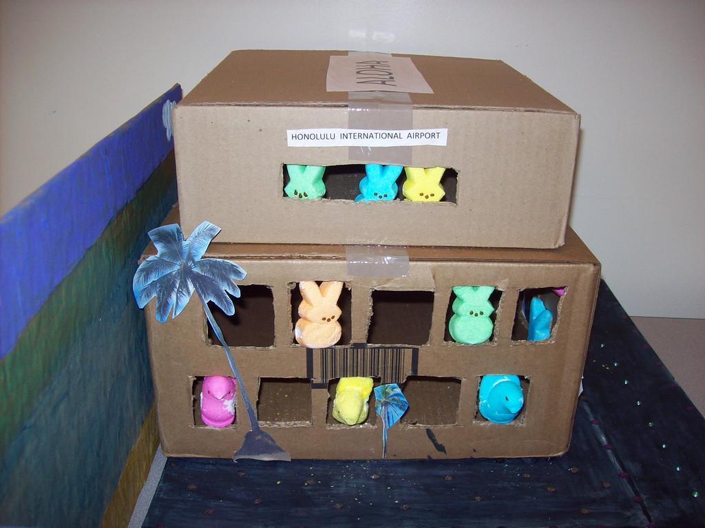 . Entry for the Children\'s Peeps Contest, I am 10. Brianna Bondurant