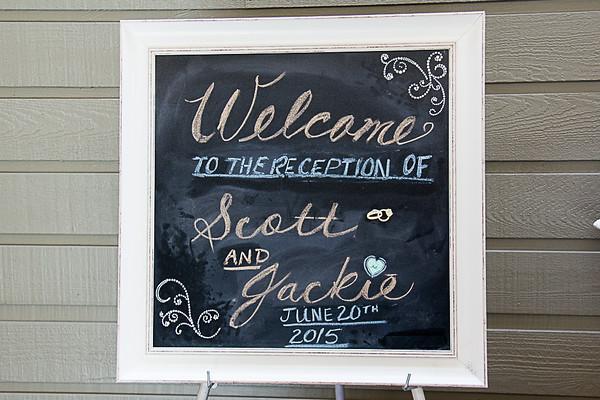 Scott & Jackie Wedding Reception