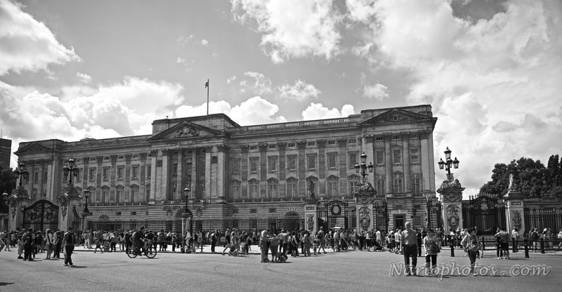 Royal Palace (B&W)
