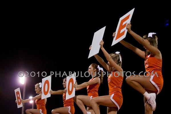 Olympia @ Boone High School  Varsity Cheer - 2010
