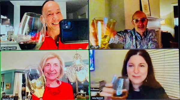 Virtual Cocktails with Friends from Around the World