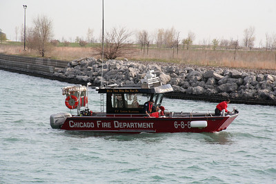 CHICAGO FIRE BOAT 6-8-8