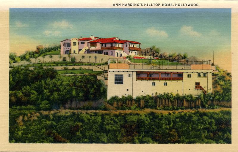 Ann Harding Hilltop Home