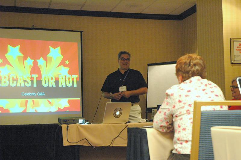 "Len Mason, Senior Web Developer, ELCA Communication Services, presents ""Webcasting for Any Budget"""