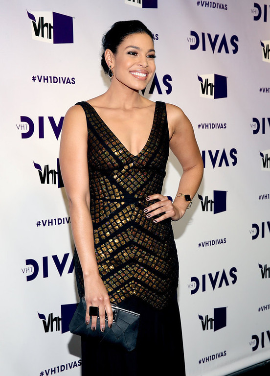 ". Singer Jordin Sparks attends ""VH1 Divas\"" 2012 at The Shrine Auditorium on December 16, 2012 in Los Angeles, California.  (Photo by Christopher Polk/Getty Images)"