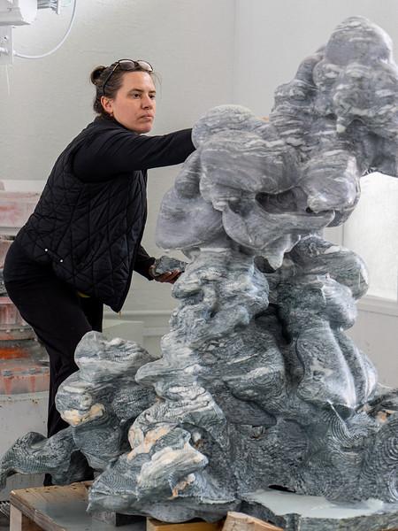 Cloud Sculpture | Marble130cm