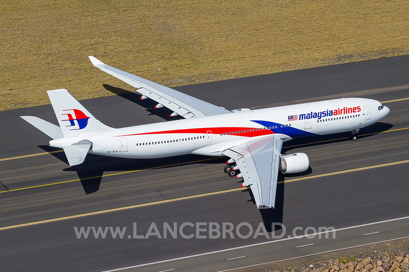Malaysia Airlines A330-300 - 9M-MTM - SYD