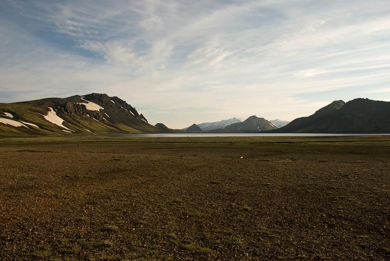 Horft yfir Álftavatn
