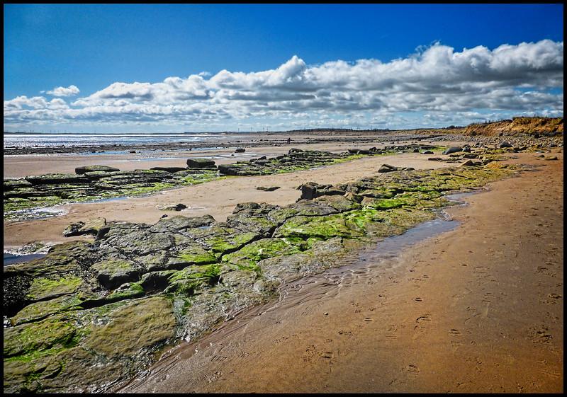 Druridge Bay, Northumberland, UK - 2018.