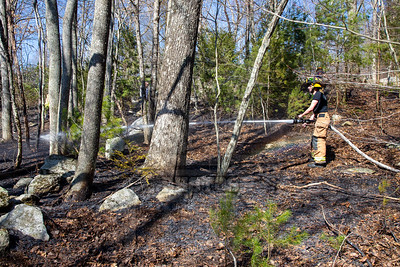 Coventry, Ct Brush fire 2/22/20
