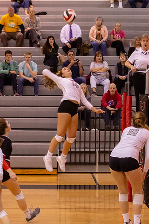 Volleyball: Heritage 3, Loudoun Valley 2 by Tim Gregory on October 30, 2018