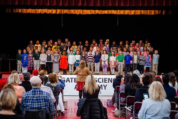 GSA 2nd Grade Concert 2018