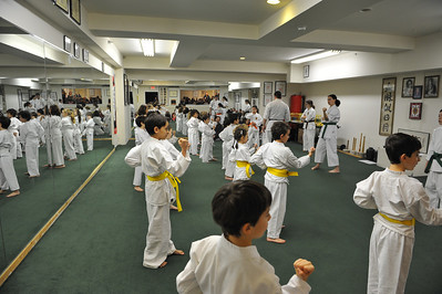 White and Yellow Belt test 1/13