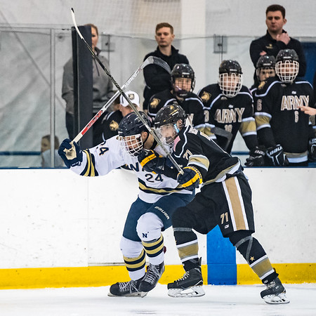 NAVY Men's Ice Hockey vs Army (01/12/2018)
