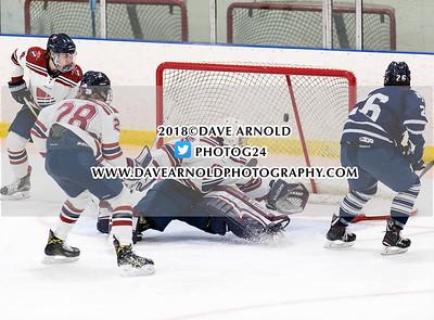 2/3/2018 - Boys Varsity Hockey - Dexter vs Andover