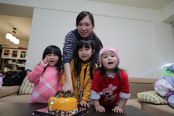 萱五歲生日