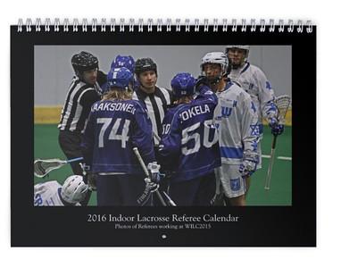 2016 Lacrosse Referee Calendar (WILC 2015)