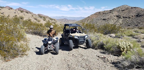 3/15/19 Eldorado Canyon Las Vegas ATV & Gold Mine