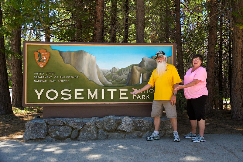Mr S. and his elf recommend Yosemite