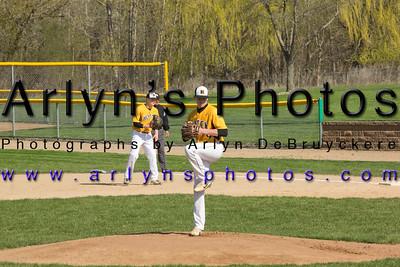 Hutch Baseball vs New Prague
