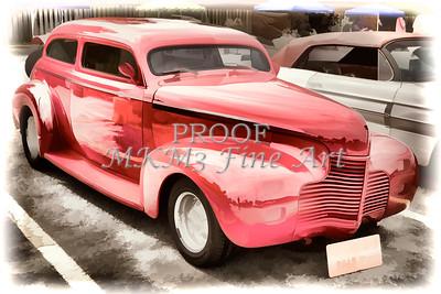 1940 Chevrolet Master Deluxe Classic Automobile