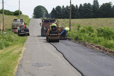 Road Work, West Penn Crew, Golf Road, West Penn (5-30-2012)