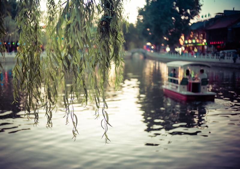 Relaxing in Houhai, Xicheng