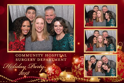 Community Hospital Surgery Department - Holiday Party 2018