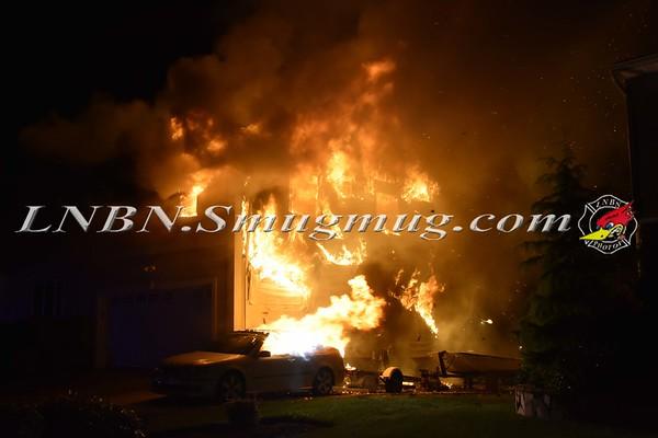 Massapequa F.D. House Fire 180 Harbor Lane 6-14-17